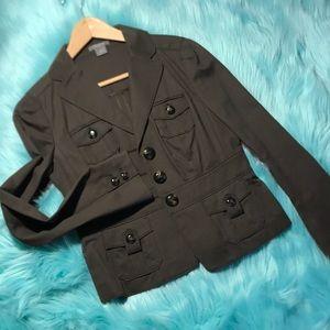 Ann Taylor size 2 brown blazer